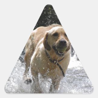 Labrador Triangle Sticker
