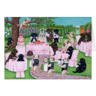 Labrador Wedding Card