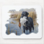 Labrador with Duck- Duck Hunting Mouse Pad