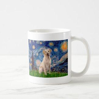 Labrador (Y7) - Starry Night Basic White Mug