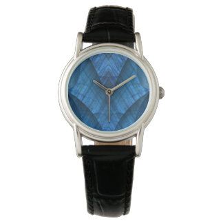 Labradorite Gems Blue Elegant Watch