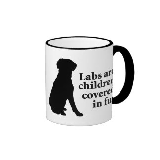 Labradors Are Fur Children Coffee Mugs