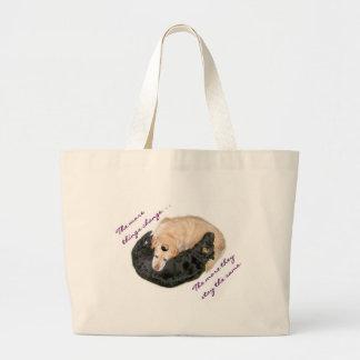 Labradors Large Tote Bag