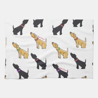 Labradors Tea Towel