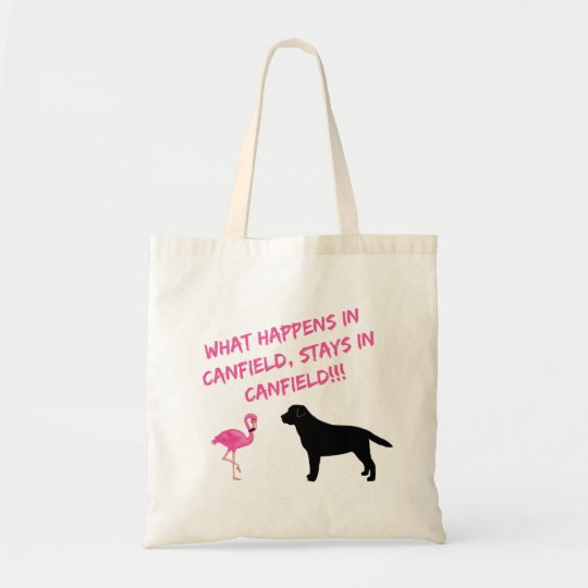 Labs and Flamingos Tote Bag
