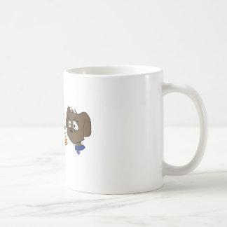 Labs Love to Rally Basic White Mug