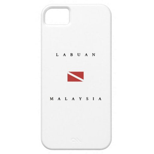 Labuan Malaysia Scuba Dive Flag iPhone 5/5S Covers