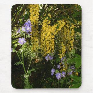 Laburnum Flowers Mouse Mat