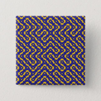 Labyrinth 15 Cm Square Badge