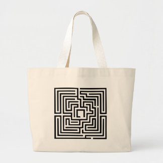 Labyrinth Canvas Bag