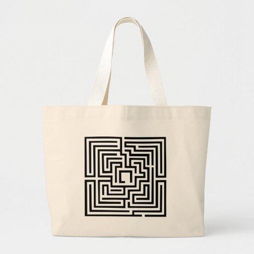 Labyrinth Canvas Bag