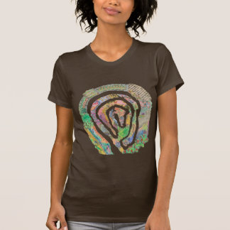 Labyrinth Garden Map T-Shirt