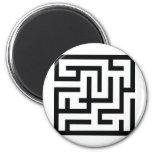 labyrinth icon refrigerator magnets