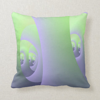 Labyrinth in Lilac and Green Pillows