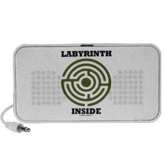 Labyrinth Inside Maze iPod Speaker