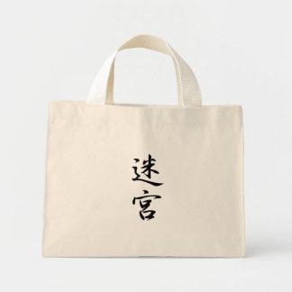 Labyrinth Kanji Canvas Bag