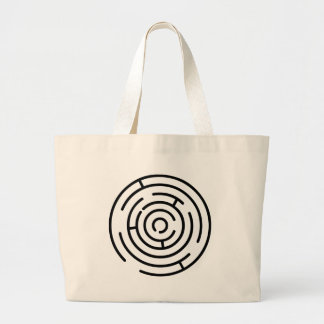Labyrinth Large Tote Bag