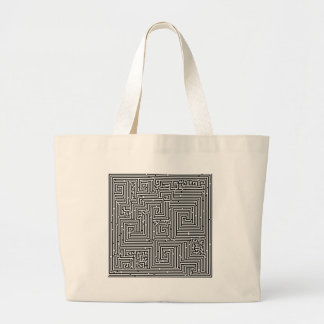 Labyrinth maze maze tote bag
