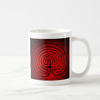 Labyrinth mysticism coffee mug