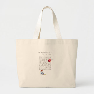 Labyrinth to my heart tote bag