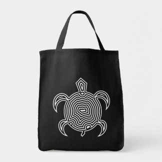 Labyrinth Turtle Dark Bags