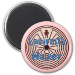 Labyrinth Walkers Walker A~Maze~ing Gifts Refrigerator Magnets