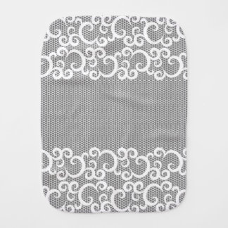 Lace 1 burp cloth