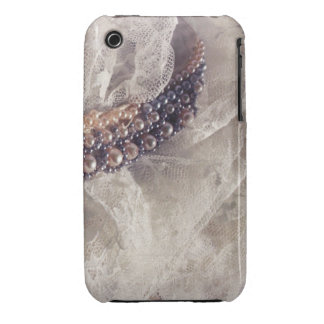 Lace and Beaded Necklace Case-Mate iPhone 3 Cases
