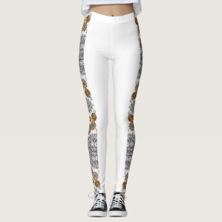 Lace and Gears Ladies Leggings