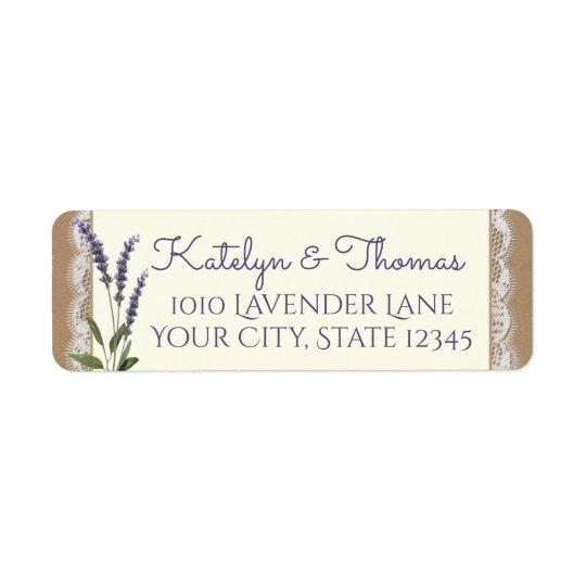 Lace and Lavender Address
