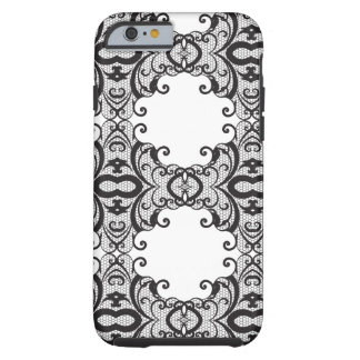Lace background 2 tough iPhone 6 case