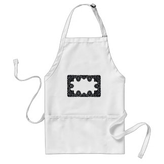 Lace Black & White The MUSEUM Zazzle Gifts Standard Apron
