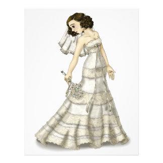 Lace Bride 21.5 Cm X 28 Cm Flyer