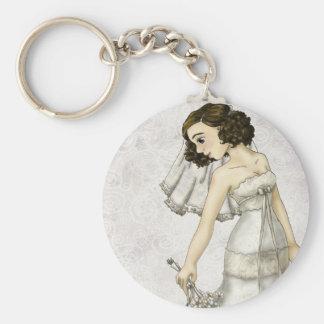 Lace Bride Key Chains