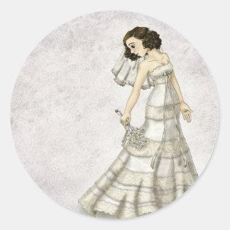 Lace Bride Sticker