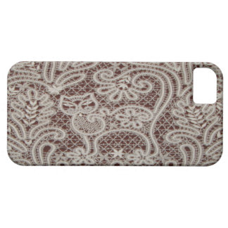 Lace Cat Art iPhone 5Barely There Case iPhone 5 Cover