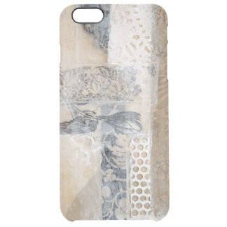 Lace Collage I Clear iPhone 6 Plus Case