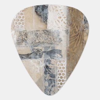 Lace Collage I Guitar Pick