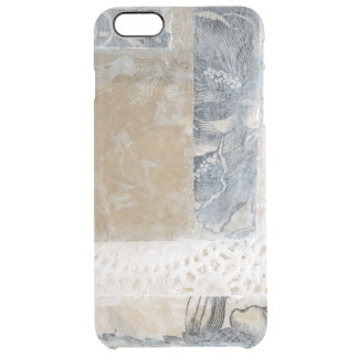 Lace Collage II Clear iPhone 6 Plus Case