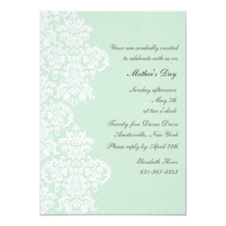 Lace Cover Mother's Day Invitation
