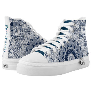 Lace decoration high tops