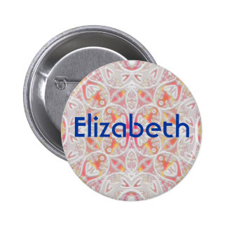 lace, Elizabeth 6 Cm Round Badge