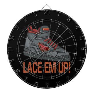 Lace Em Up 4 Dartboard With Darts