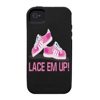 Lace Em Up Vibe iPhone 4 Cases