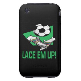 Lace Em Up iPhone 3 Tough Cover