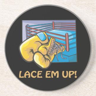 Lace Em Up Coasters