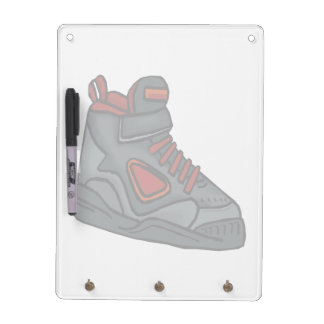 Lace Em Up Dry Erase White Board