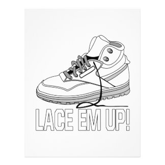 Lace Em Up Personalized Flyer