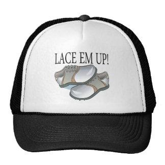 Lace Em Up Mesh Hats