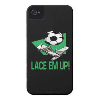 Lace Em Up iPhone 4 Case-Mate Case